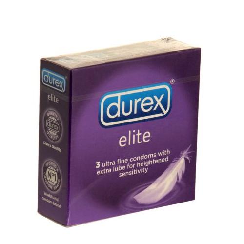 Durex Condoms Elite 3 pack