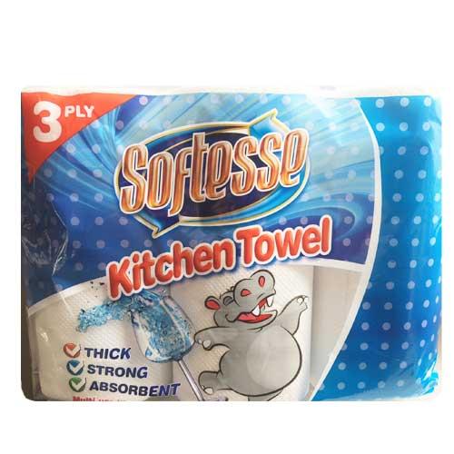 sotfesse 3pky kitchen rolls 48 pack