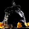 600 black bin bags