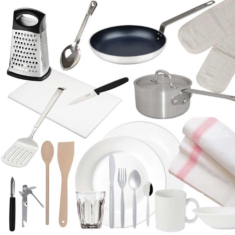 23 piece kitchen starter pack for students or new nome owners uni rh unibulkbuy co uk