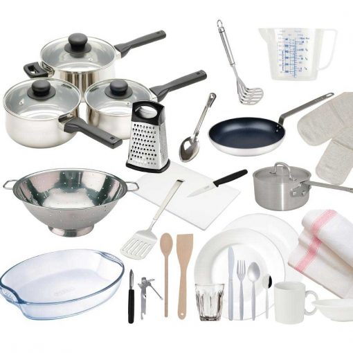 28 piece complete kitchen starter pack