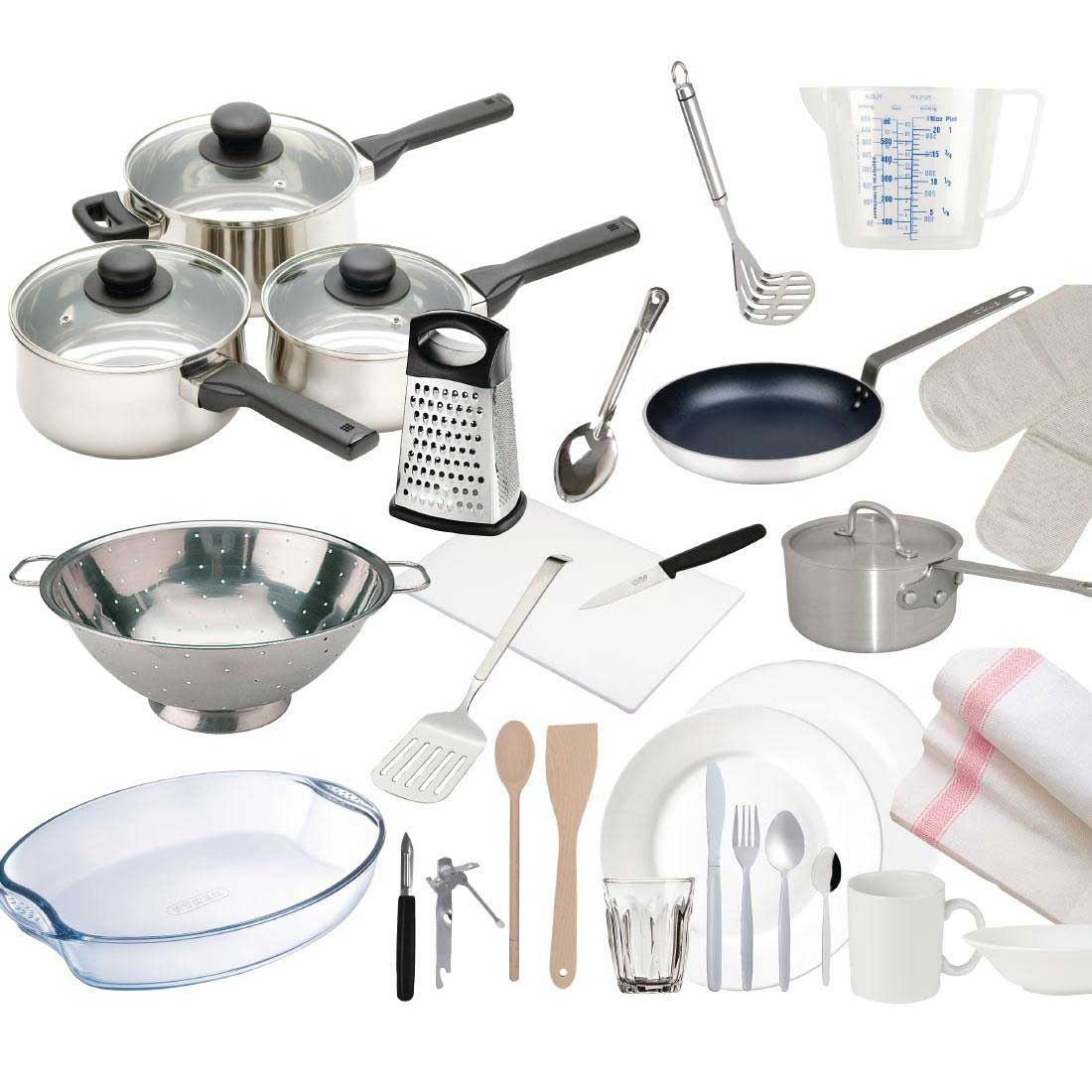 28 piece complete kitchen starter pack for student or home owners rh unibulkbuy co uk complete kitchen starter kit complete kitchen cabinet starter set