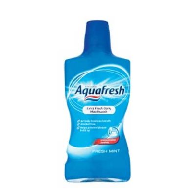 Aquafresh fresh mint mouthwash