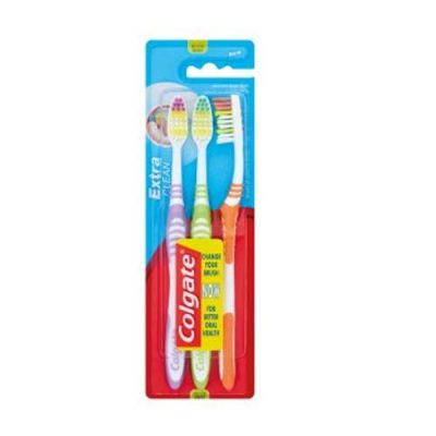 Colgate Toothbrush Extra Clean 3pk