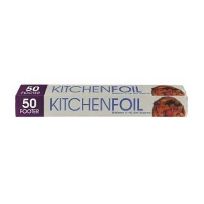Kitchen Foil 50ft x 300mm
