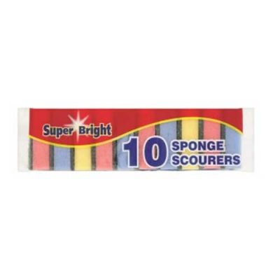 Superbright Sponge Scourer 10pk