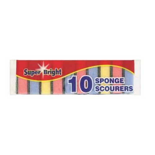Superbright Sponge Scourer 10pk