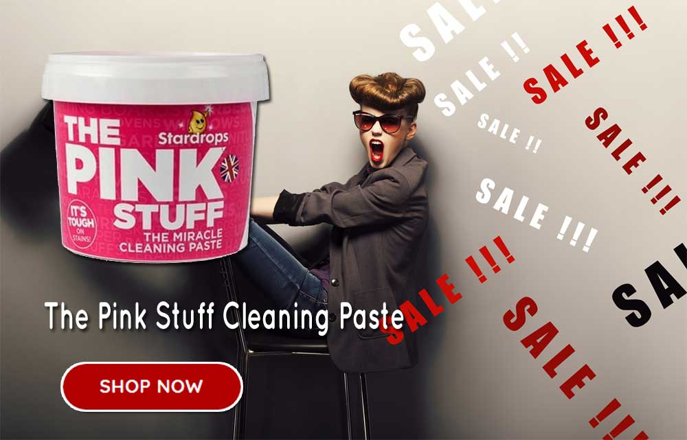 The Pink Stuff Miracle Cleaning Paste