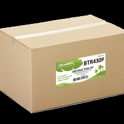 Ecobox 2ply Toilet Rolls BTR430P