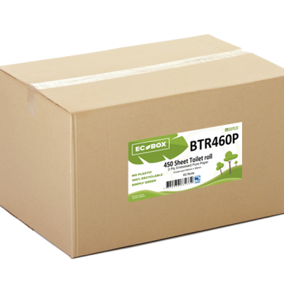 Ecobox 2ply Toilet Rolls BTR460P